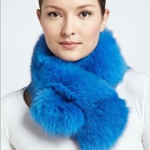 Adrienne Landau Accessories - Adrienne Landau X Bryan Boy fox fur scarf