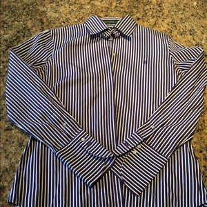 Ralph Lauren button down striped shirt.