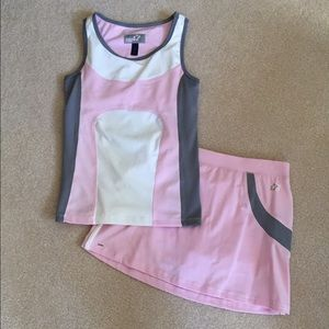 Limited Too Other - Pink Girls Tennis Outfit