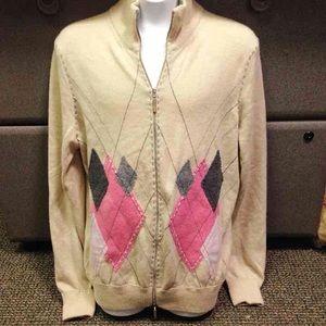 Les Copains Sweaters - Les Copains 100% Cashmere Cardigan
