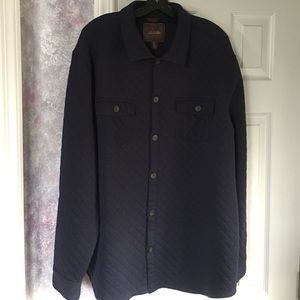 Tasso Elba Other - Tasso Elba navy blue cotton button down shirt