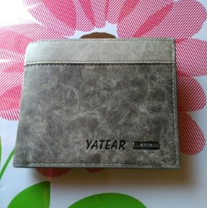 Yatear Other - $8 SALE!  Men's Genuine Leather Bi-fold Wallet