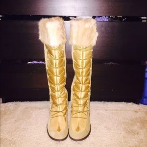 Winter fur boots - baby phat x Kimora lee Simmons