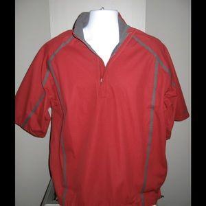 Nike Other - Mens Nike golf 1/2-zip wind shirt