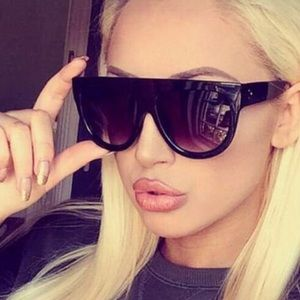 Large Ombre Sunglasses