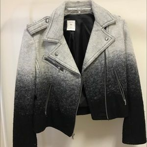 GAP Jackets & Blazers - Ombré moto jacket from Gap