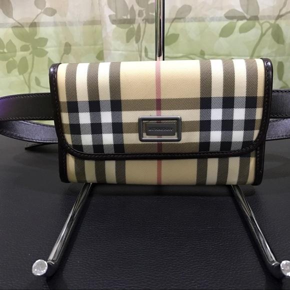 fdc46abff762 Burberry Handbags - Burberry Nova Check Fanny Pack