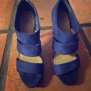 Shoes - Dark Blue Heels