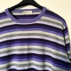 Della Ciana Other - Striped Cashmere Crewneck  pullover sweater