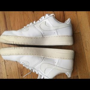 Nike Other - White Nike Air Force Ones Size 11