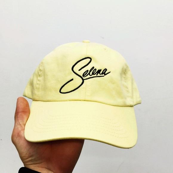 160e7141c7d Accessories - SELENA dad hat - yello