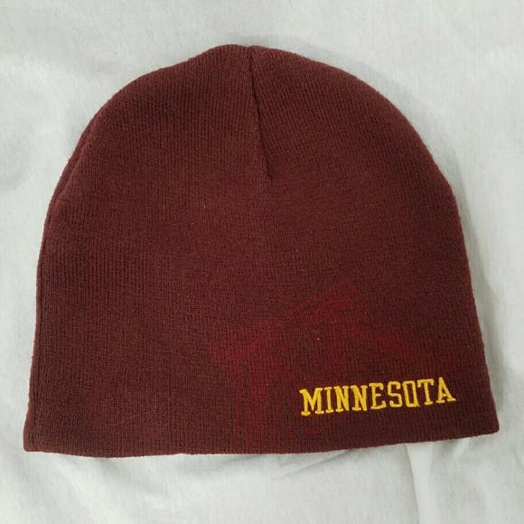dcb576f7 Nike Accessories | Minnesota Golden Gophers Beanie Cap Hat | Poshmark