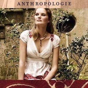 "Anthropologie Tops - ❤SALE!! ANTHROPOLOGIE ""Midnight Sun Rising"" blouse"