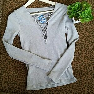 NWT Free People Seamless Layering Tee