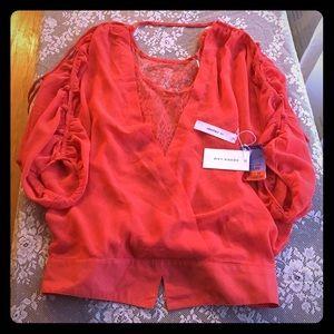 10 Crosby Derek Lam Tops - NWT DEREK LAM 10 CROSBY coral blouse