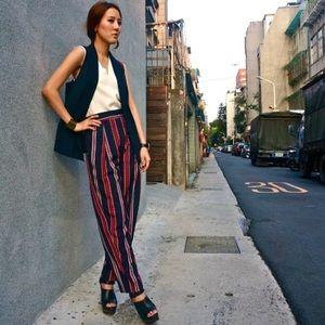 ✨HOST PICK✨ Zara high waisted stripe pants