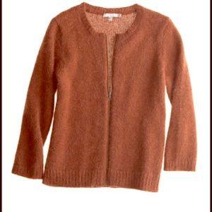 Calypso St. Barth Sweaters - CALYPSO St. Barth Mohair Zip Cardigan