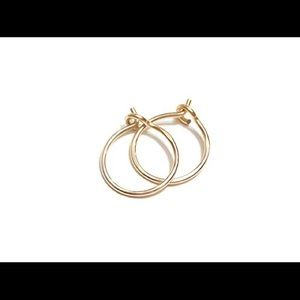 new england jewelry designs Jewelry - ❗️sale❗️14K yellow Gold 10mm hoop earrings