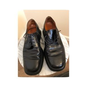 Tod's Other - Tod's black leather shoe size 7