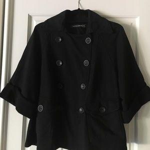 """European Culture Jackets & Blazers - European Culture """"swing"""" pea coat"""