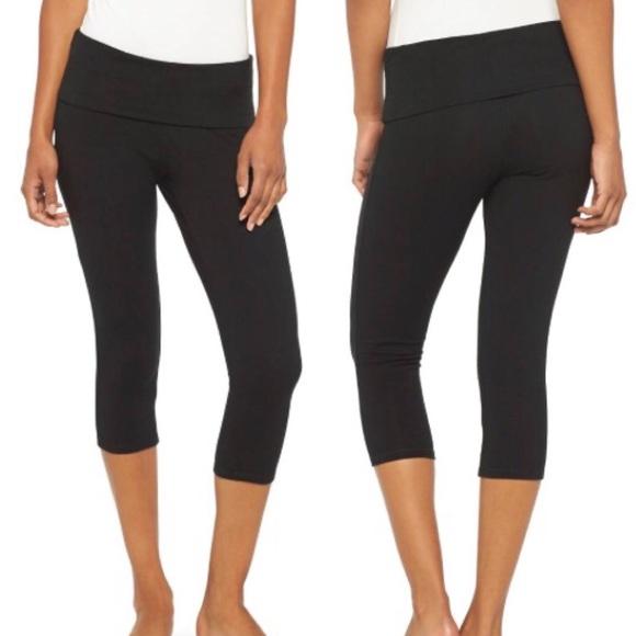 e4076c1420a656 Mossimo Supply Co. Pants   Mossimo Fold Over Yoga Capris   Poshmark
