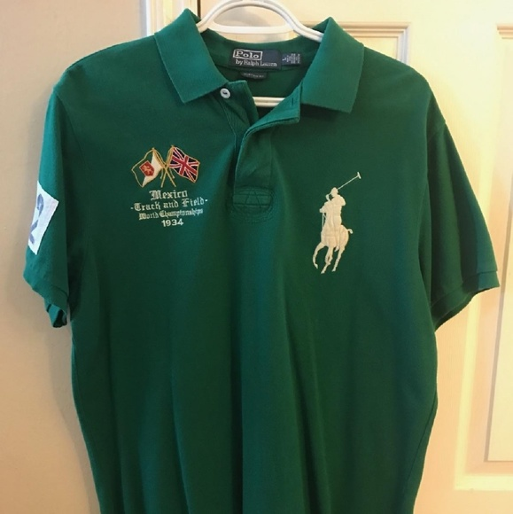 Polo by Ralph Lauren Shirts   Polo Ralph Lauren Big Pony Mexico Polo ... 00777cf6bc48