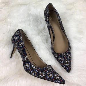 Ann Taylor Shoes - Ann Taylor Patterned Pointed Heels