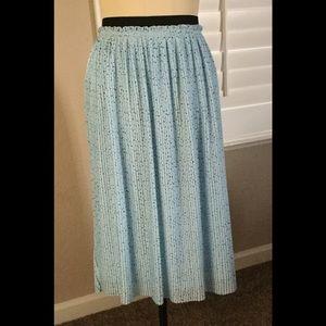 torrid Dresses & Skirts - New Blue Star Chiffon Pleated Skirt Torrid Size 2
