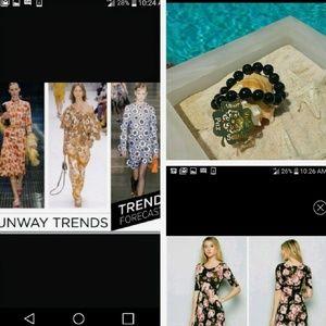 Fashionomics Dresses & Skirts - Floral  blush maxi dress