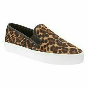 Banana Republic Shoes - Banana Republic Cheetah Print Slip Ons