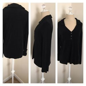 Chico's Tops - Firm Chico's Travelers shirt size 2 (12)