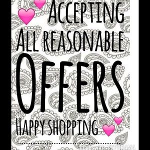 Other - All reasonable offers accepted 👗👠👛