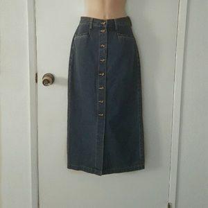 Eddie Bauer Dresses & Skirts - Denim Long Skirt
