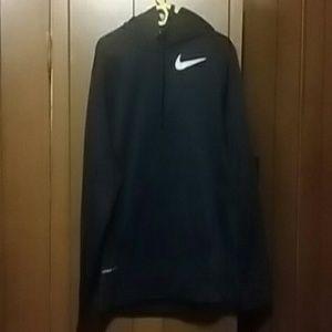 Nike Other - NIKE  Black Hoodie Sports Top.  M