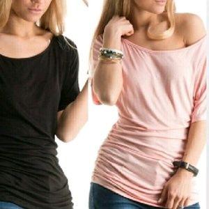 Fashionomics Tops - Blush top
