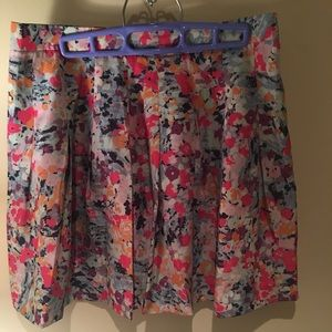 J. Crew Floral Skirt - Size 4