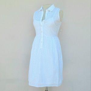 Covington White Sleeveless Size 16