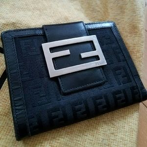 Black Fendi Wallet