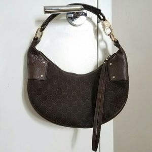 Brown GUCCI hobo