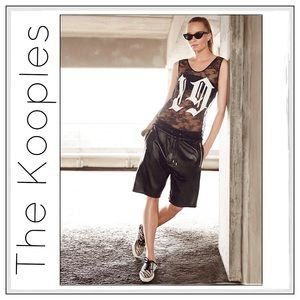 The Kooples Tops - ✨The Kooples Baseball Lace Tank✨