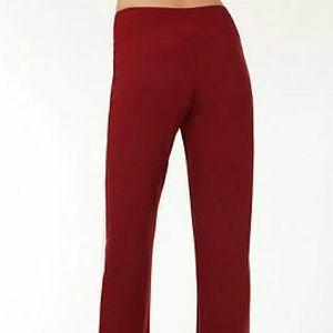 Boston Proper Pants - Boston Proper travel pant in burgundy fits medium