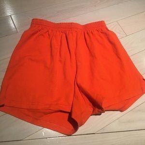 Soffe Pants - Orange Soffe Shorts Size XL