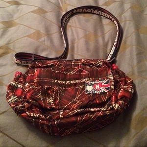 Harajuku Lovers Handbags - Harajuku lovers plaid adjustable strap handbag
