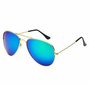 Desen Accessories - Gold/Green Retro Fashion Aviator Sunglasses BNWT