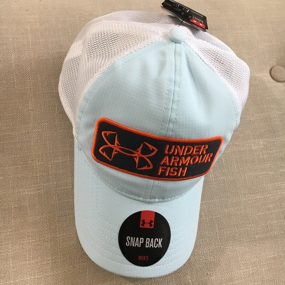 71a5f5cded9 Under Armour Fish Men s CoolSwitch SnapBack Hat