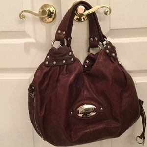 B Makowsky  Handbags - Ladies Brandy colored leather B Makowsky purse NWT