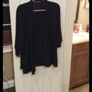 Susan Graver Other - 🎉FINAL PRICE🛍Susan Graver dressy black cardigan