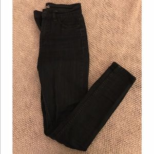 High waisted dark wash Urban Outfitters jeans