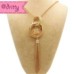 Jewelry - Double Dangling Chain