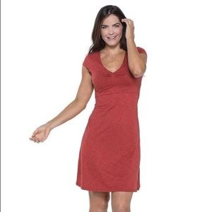 Horny Toad Dresses & Skirts - HORNY TOAD ROSEMARIE RED CASUAL DRESS #335
